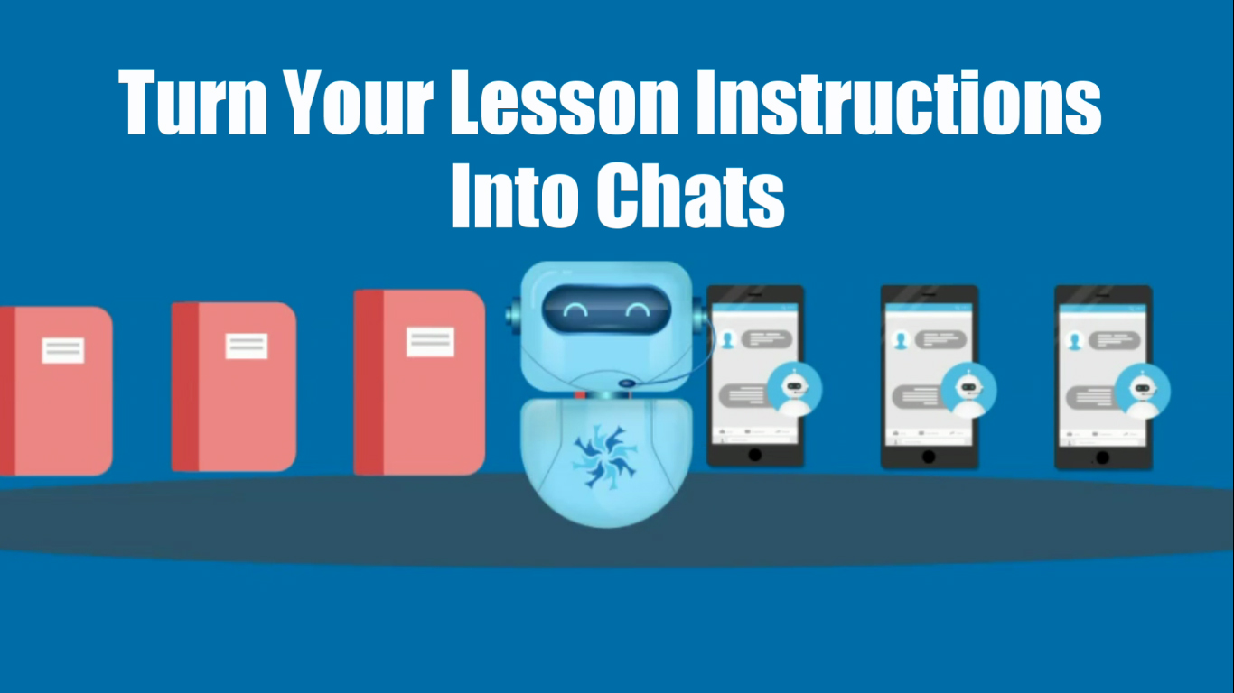 Turn lesson instructions to chat with GMC ChatToLearn