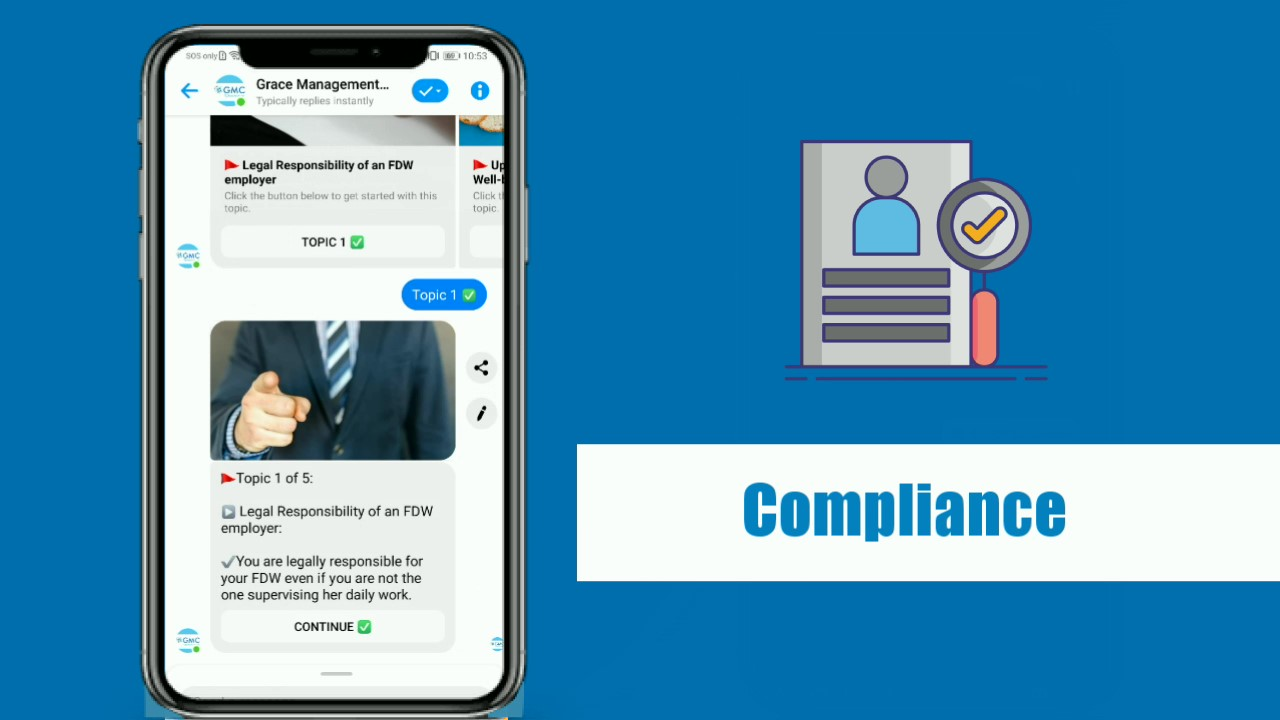 Compliance Micro-learning with GMC ChatToLearn