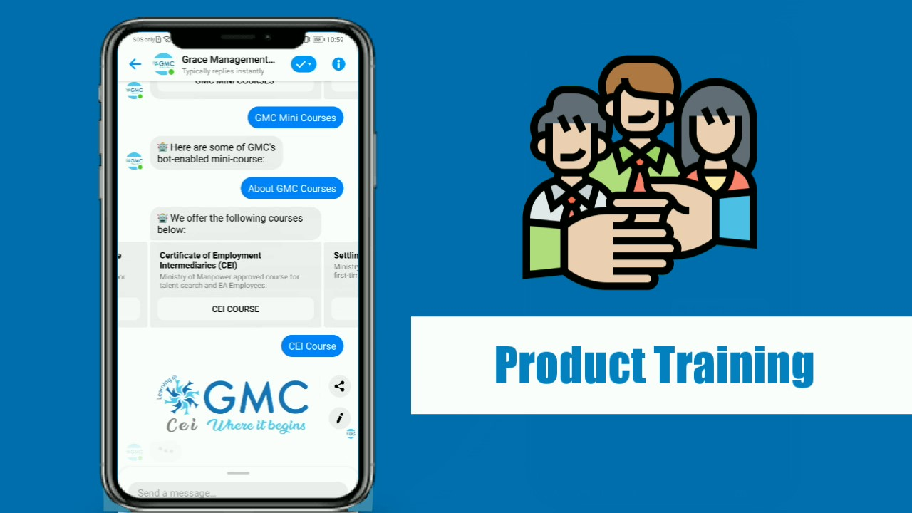 Product Training Micro-learning with GMC ChatToLearn