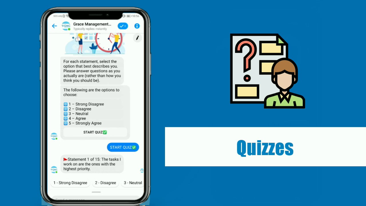 Micro-learning Quizzes with GMC ChatToLearn